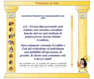 preventivi on line