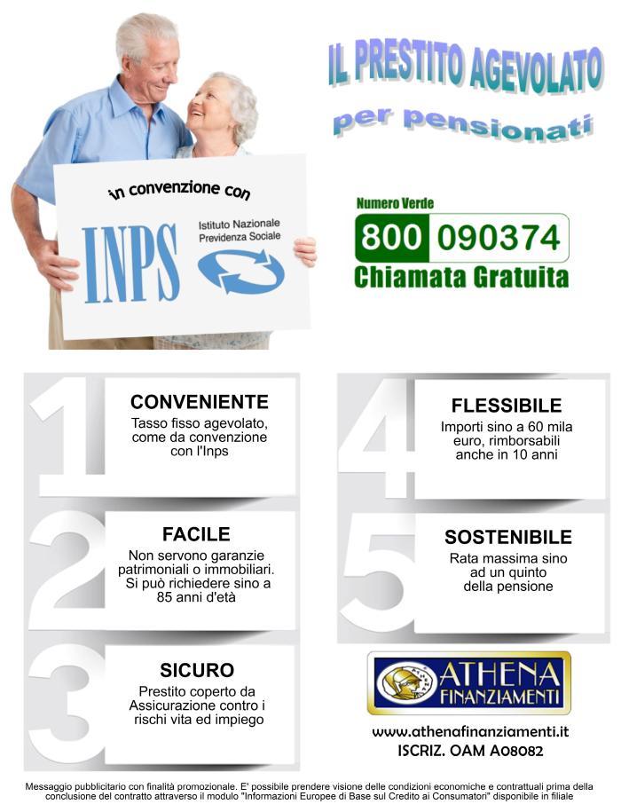 prestito agevolato pensionati